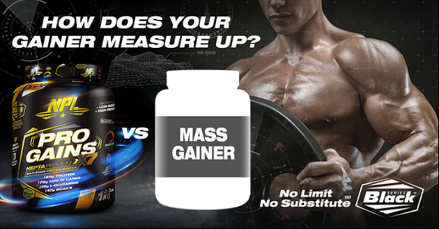 HOW DOES YOUR MASS GAINER MEASURE UP?