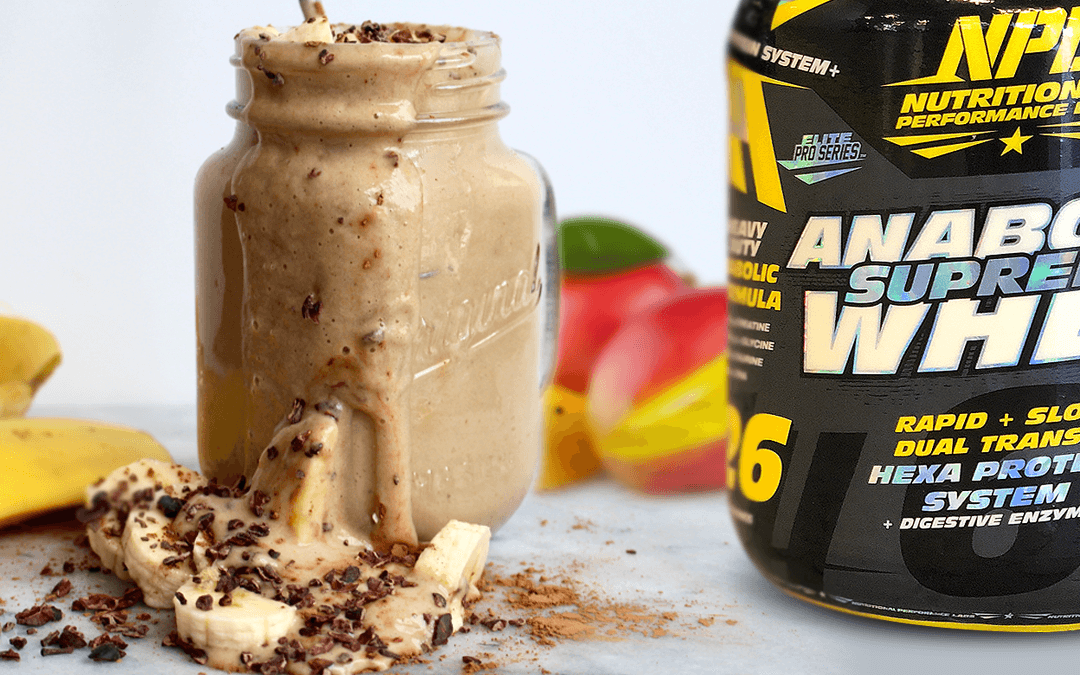AWESOME ANABOLIC PROTEIN SMOOTHIE